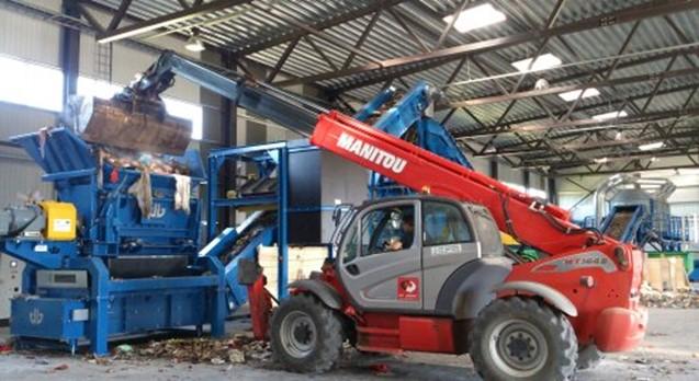 Atkritumu šķirošanas stacija | Green Energy Systems
